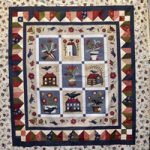 Buttermilk Blossoms Quilt Kit, Pattern by Stacy West