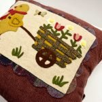 Chick and Pull Cart Wook Applique Kit