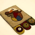 Dodge Mug Mat, Pattern & Kit by Rustic Country Handcrafts