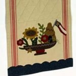 Vintage Table Runner - Buttermilk Basin, July
