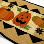 'Pumpkin Party' Table Runner Wool Applique Kit