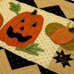 Wool Applique Kit - Pumpkin Party Pattern
