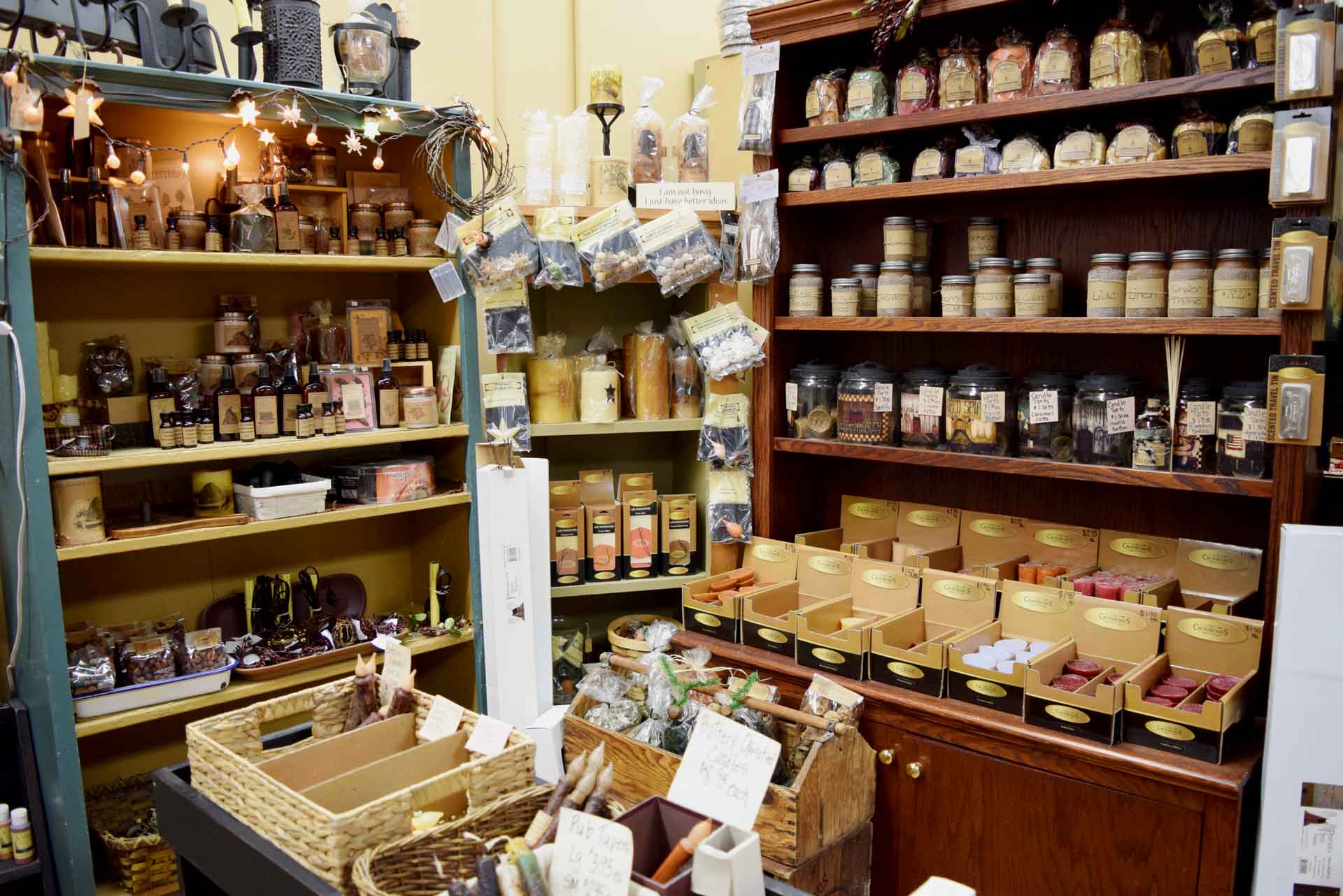 Large Selection of Candles & Essential Oils