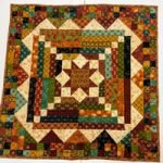 "'Smack Dab In The Middle' Quilt Kit by Kim Diehl - 24.5""x24.5"""