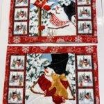 'Snow Days' Placemats Quilt Kit - Set of 6