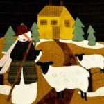 Snow Shepherd Wool Applique Kit