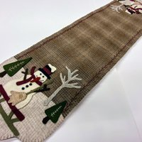 Snow Day Table Runner, Pattern by Buttermilk Basin