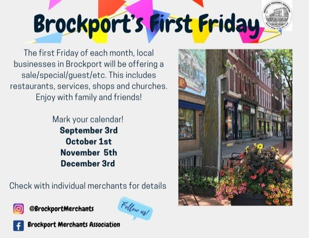 Brockport's First Friday