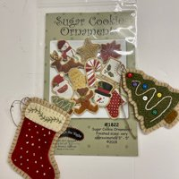 Sugar Cookies Wool Applique Kit Ornaments
