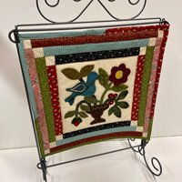 Summer Blooms Wool Applique Kit